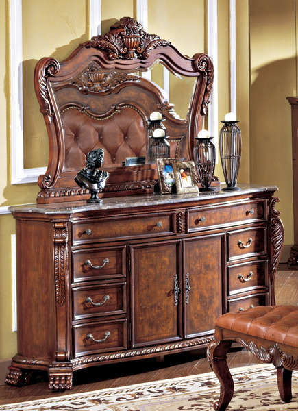 Royal Collection Dresser & Mirror