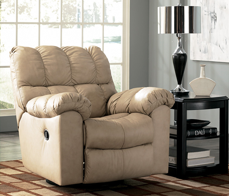 Max Reclining Chair in Chamois